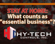 HY TECH Controls Essential Business